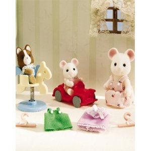 Calico Critters 1966 Melanie and Sparky Play Date