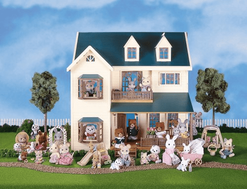 Calico Critters 1997 Deluxe Village House