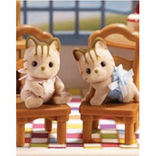 Calico Critters 2012 Caramel Cat Twins