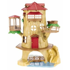 Calico Critters 2044 Cloverleaf Tree House