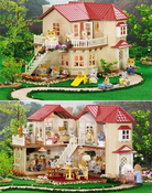 Calico Critters 2085 Luxery Townhome