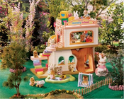 Calico Critters 2109 Baby Play Nursery School with 2 Twin Babies