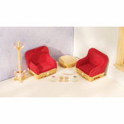 Calico Critters 2127 Counrty Living Room Set