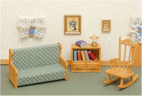 Calico Critters 2255 Living Room Set