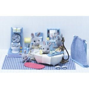 Calico Critters 2256 Master Bathroom Set