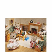 Calico Critters 2263 Deluxe Living room Set