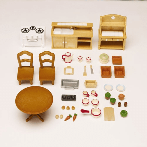 Calico Critters 2267 Deluxe Kitchen Set