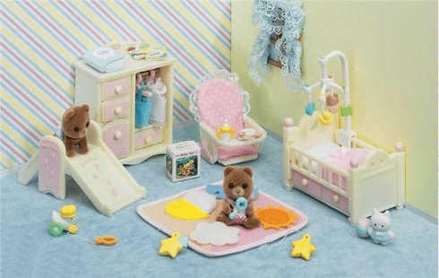Calico Critters 2269 Baby's Nursery Set