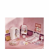 Calico Critters 2271 Girls Lavender Room