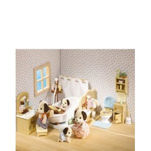 Calico Critters 2480 Deluxe Bathroom Set