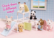 Calico Critters 2623 Baby Jungle Gym