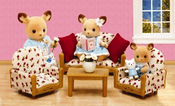 Calico Critters 2922 Living Room Suite