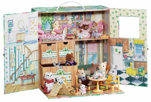 Calico Critters 9900 Carry and Play Case