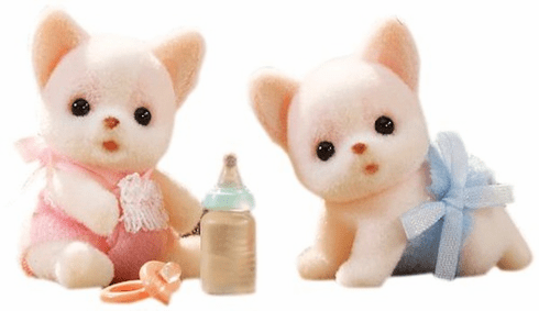 Calico Critters Chihuahua Twins