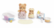 Calico Critters Melissa and Melody Bath Time Set