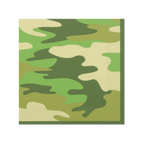 Camouflage Lunch Napkin