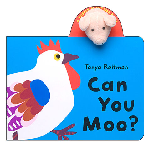 Can You Moo? Finger Puppet Book