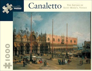 Canaletto: The Square of St. Mark's, Venice蔎igsaw Puzzle