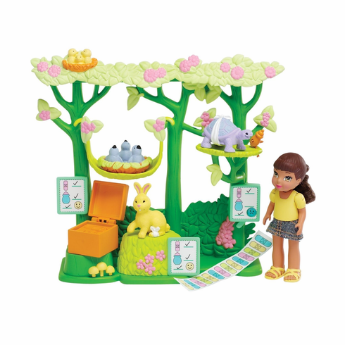 Caring Corners Critters Doll Set