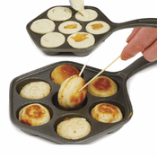 Cast Iron Filled Pancake Pan