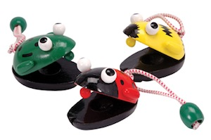 Castanets Bees Frogs Ladybugs