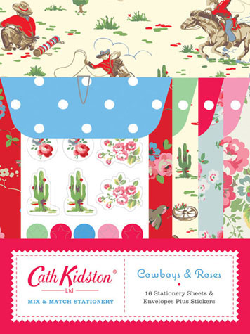 Cath Kidston Cowboys & Roses Mix & Match Stationery