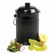 Ceramic Compost Crock 1 Gallon