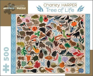 Charley Harper: Tree of Life Jigsaw Puzzle