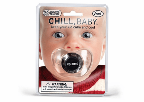 Chill Baby Pacifier Volume Knob