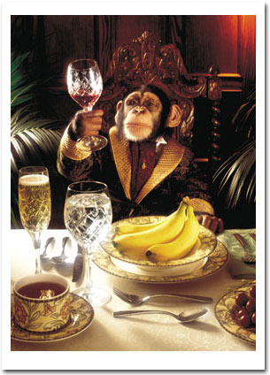 Chimp and Goblet