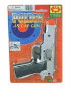 Chrome Plated Cap Pistol