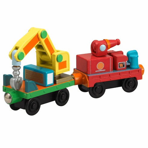Chuggington Train Rescue Cars