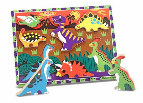 Chunky Puzzle Dinosaurs