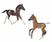 Classics Collection Colorful Foals