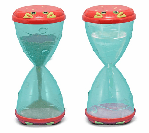 Clicker Crab Hourglass Sifter