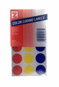Color Coding Labels - Assorted