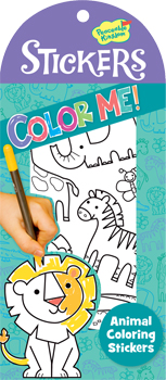 Color Me Animal Stickers