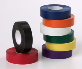 Colored Plastic Tape Narrow