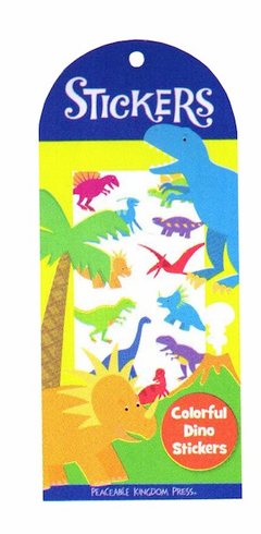 Colorful Dino Stickers