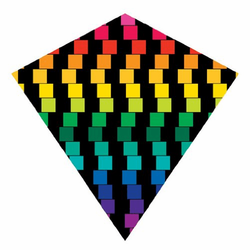 "ColorMax 25.5"" Cubes Diamond Kite"