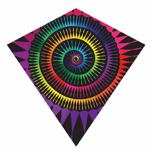 "ColorMax 25.5"" Spiral Diamond Kite"