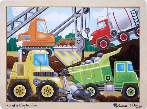 Construction Site Jigsaw Puzzle