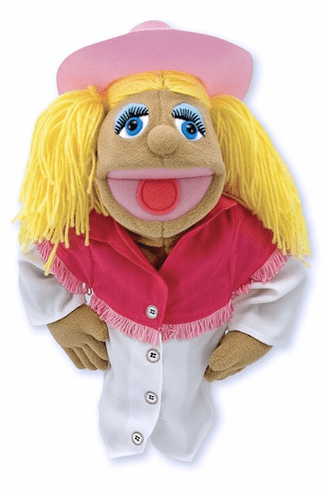 Cowgirl Puppet