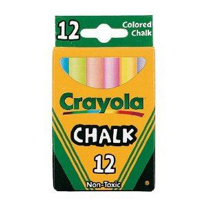 Crayola 12 pack Colored Chalk