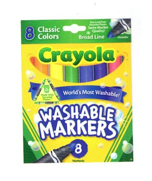Crayola  Classic Markers 8 pk