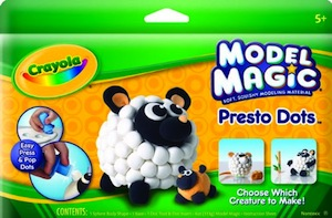 Crayola Model Magic Presto Dots - Lamb