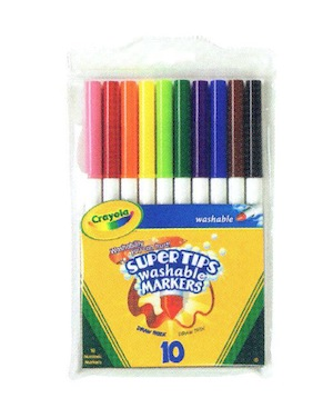 Crayola Washable Supertips Markers
