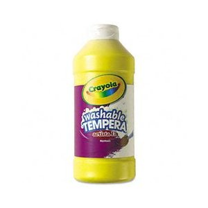 Crayola Washable Tempura - Yellow