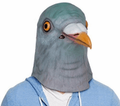 Creepy Pigeon Mask