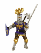 Crested Knight - Blue